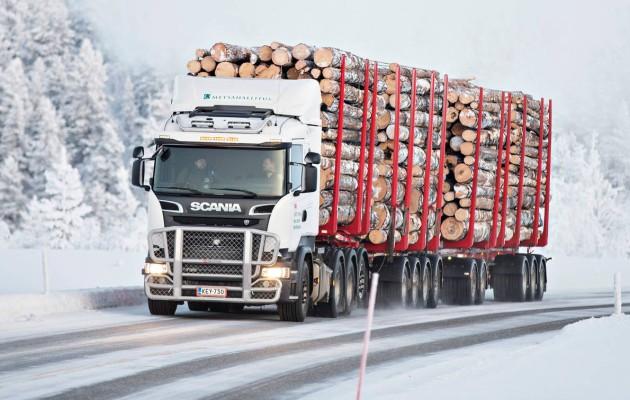 Suomen Isoin Rekka On 104 Tonninen Scania R 730 Lb 8x4