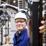 Daimler-projektien johtaja Jyrki Nurmi on tehnyt koko tähänastisen uransa Uudenkaupungin autotehtaan leivissä.