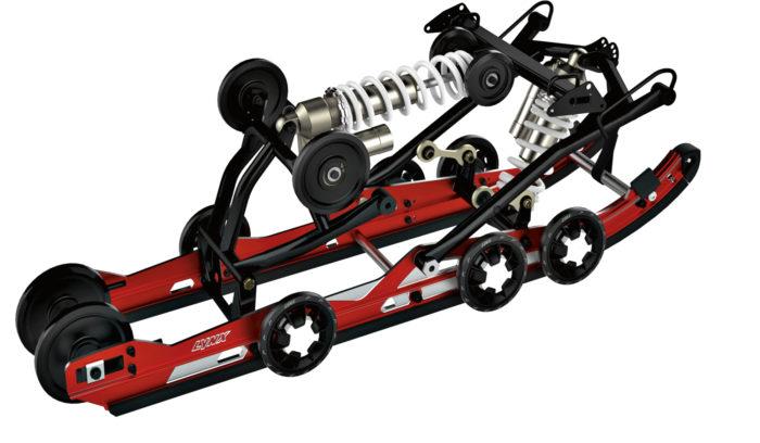 PPS-telasto (Pauli Piippola Suspension) on nerokas oivallus, joka parantaa tuntuvasti moottorikelkan jousituksen toimintaa.