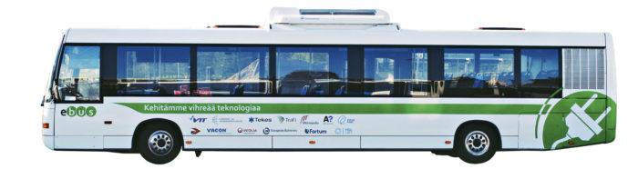 Sähköbussit ovat askel kohti päästötöntä joukkoliikennettä. VTT on ollut alusta asti mukana käynnistämässä sähköbussien käyttöönottoa ja järjestelmien kehitystä Suomessa. VTT:n prototyyppi toimii jatkossakin avoimena tutkimus- ja kehitysalustana, jota nyt päivitetään uusilla akuilla ja latauslaitteella niin, että sitä voi pikaladata automaattisesti bussiterminaalissa, päätepysäkillä tai linjalla.