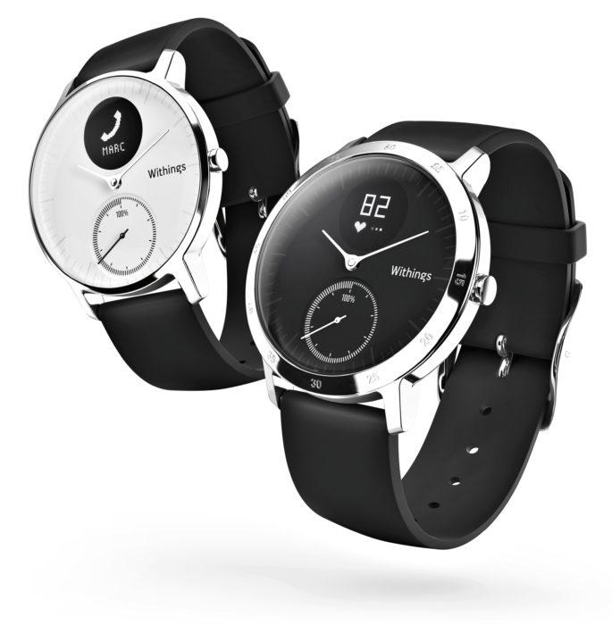 Activite Steel HR-kellossa on rannesykemittaus, aktiivisuusmittaus ja älykellon tyylinen puhelimen notifikaatioiden näyttö.