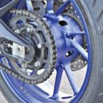 Ketjut ja rattaat uusittiin 28 770 kilometrin kohdalla.