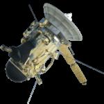 Lähes seitsemän metriä pitkä ja hieman yli kaksi tonnia painava Cassini kaikessa komeudessaan. Nimensä se on saanut Saturnuksen renkaita tutkineelta ja sen neljä suurinta kuuta löytäneeltä 1600-luvun tähtitieteilijältä Giovanni Domenico Cassinilta.
