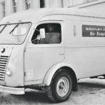 Liikkuvan Veripalvelun autojen pysäköinnissä piti 1950-luvulla ottaa huomioon paikkakunnalla puhuttu kieli.