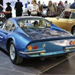 Ferrari Dino 206 GT Scaglietti (1969), 246 GT-tuotantomallia edeltänyt harvinainen edeltäjä RM Sotheby'sin huutokaupassa.