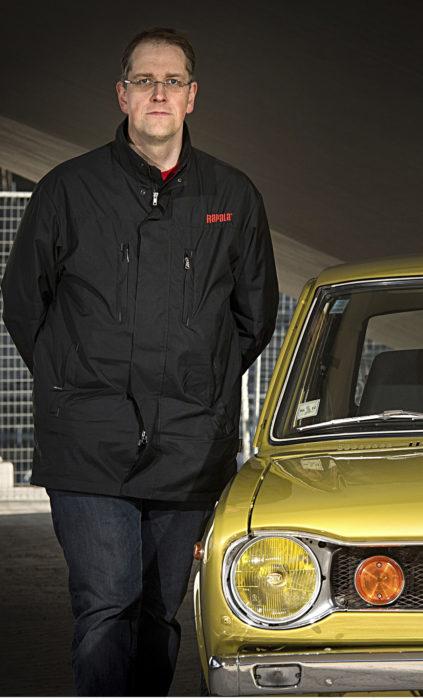 Juha Siltala on omistanut Datsun 100A:nsa vuodesta 2006.