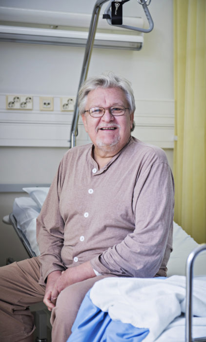 Ari-Pekka Kytösaho heräili nukutuksesta saman tien hoidon päätyttyä ja oli valmis lähtemään kotiin jo samana päivänä.