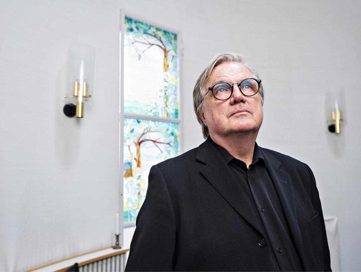 """Helsinkiläisen Terhokodin """"Hiljainen huone"""" on tarkoitettu kaikille maailmankatsomuksesta riippumatta, kertoo lääkäri Juha Hänninen."""