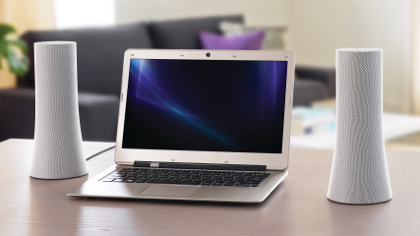 Logitech Z600 ja tietokone