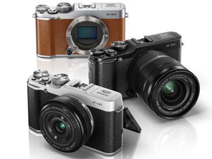 Fujifilm X-M1 värit