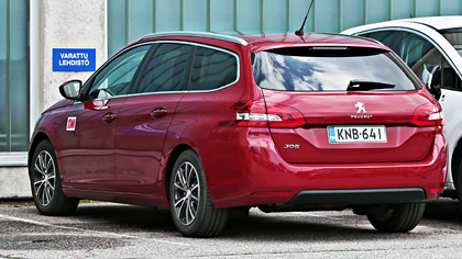 Peugeot 308 kokemuksia
