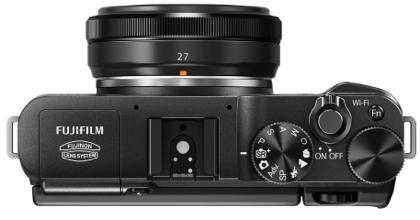 Fujifilm X-M1 ylä