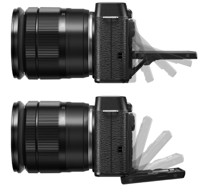 Fujifilm X-M1 näyttö
