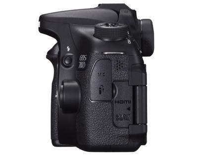 Canon EOS 70D sivu