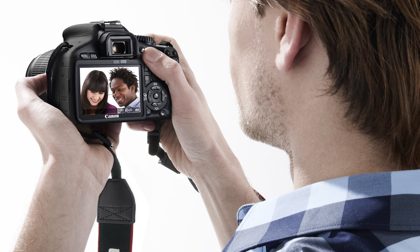 Canon EOS 550D suorakatselu