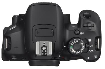 Canon EOS 650D ylä