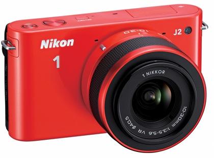 Nikon 1 J2 edestä