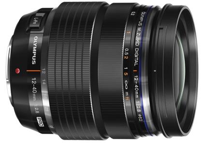 Olympus 12 - 40 mm pro-optiikka