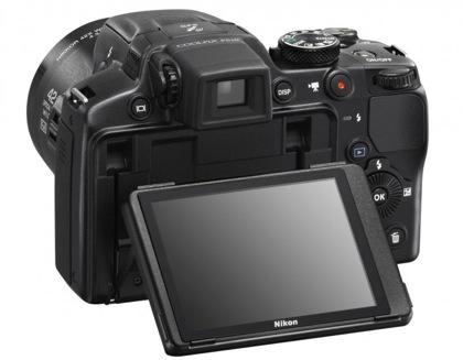 Nikon P510 näyttö