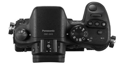 Panasonic DMC-GH3 ylä