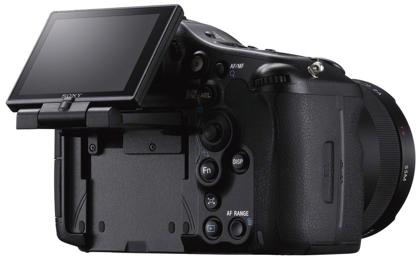 Sony Alpha SLT-A99 takaa