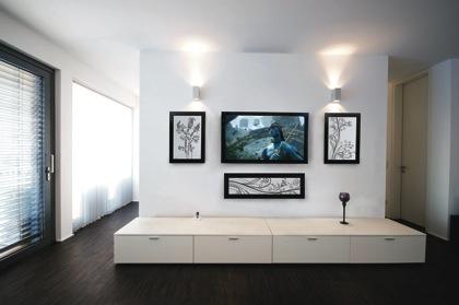 SoundFrame huone