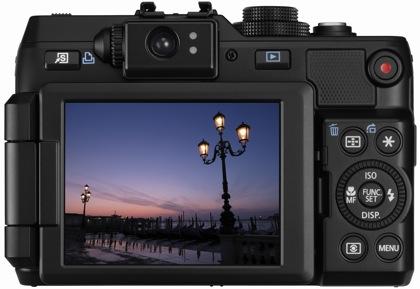 Canon PowerShot G1 X takaa