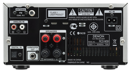 Denon RCD-M39 takaa