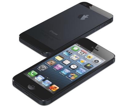 iPhone 5 musta