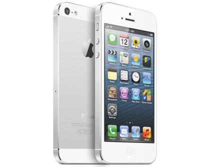 iPhone 5 valkoinen