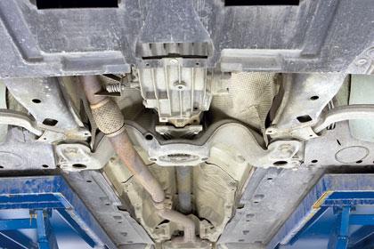 Audi a4 pohja