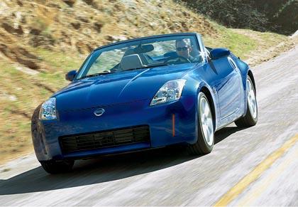 Nissan 350 Z Roadster, 230 kW