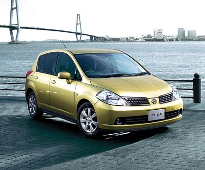 Nissan Tiida: 80-94 kW