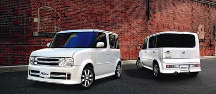 Nissan Cube: 71-80 kW