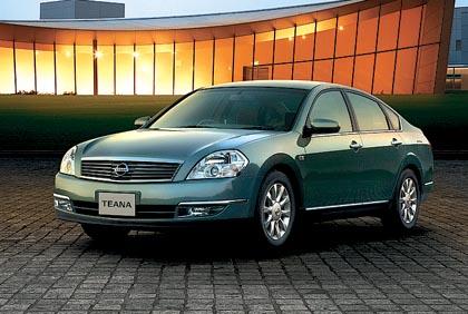 Nissan Teana: 118-170 kW