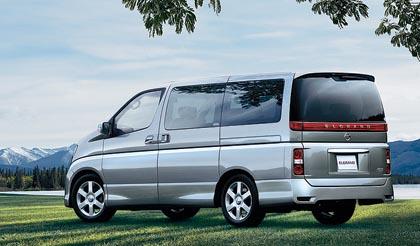 Nissan Elgrand: 137-177 kW