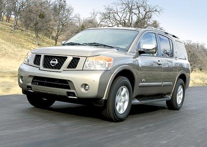 Nissan Armada: 236 kW