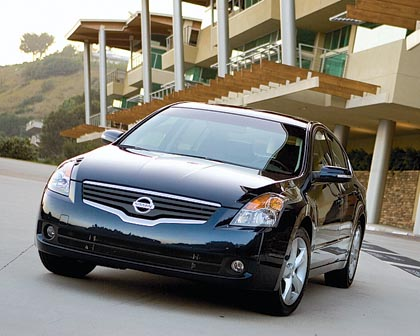 Nissan Altima: 129-202 kW