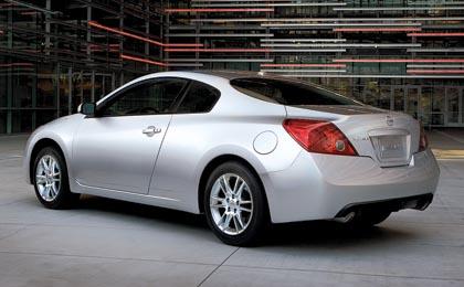 Nissan Altima Coupé: 130-186 kW