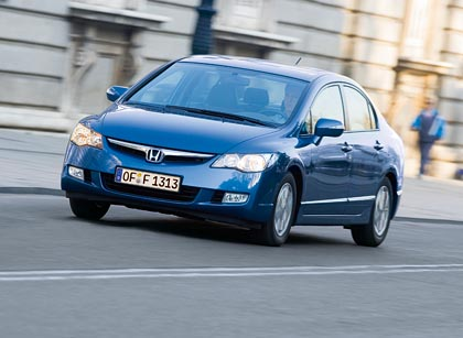 Honda Civic Hybrid: 70 + 15 kW