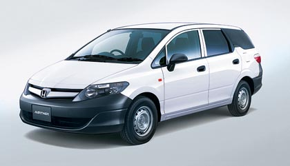 Honda Partner GL (66 kW): käyttöauton saa valinnaisesti myös nelivetoisena.