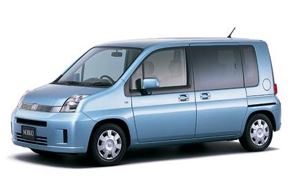 Honda Airwave (81 kW): kompakti farmariauto 1,5-litraisella bensiinimoottorilla.