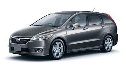 Honda Stream (103–110 kW): urheilullinen seitsenpaikkainen tila-auto.