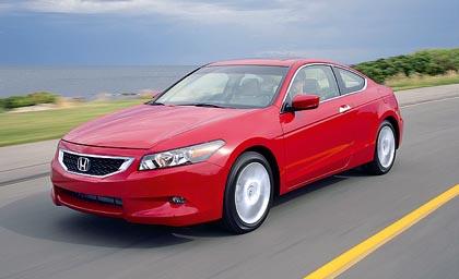 Honda Accord Coupé (140–200 kW): uusi malli neli- ja kuusisylinterisellä moottorilla.