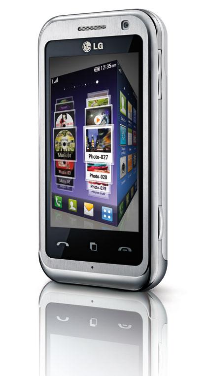 LG Arena KM900 -puhelimen graafista kuutiota muistuttavan uuden käyttöliittymän luvataan tuovan helpotusta laitteen toimintoihin. Valikot on sijoitettu näytöllä pyöritettävän kolmiulotteisen kuution pinnoille. Sormella kuutiota siirtelemällä saadaan esille aina haluttu valikkosivu. LG:ssä olevassa 5 megapikselin kamerassa on automaattitarkennus, kuvanvakain sekä geotagging-toiminnot. LG Arena KM900:n erityisominaisuuksiin kuuluu jopa ula-lähetin, joka mahdollistaa laitteeseen tallennetun musiikin kuuntelun vaikka autostereoiden kautta. Huhtikuussa kauppoihin tulevan LG Arena KM900 -puhelimen hinta on noin 500 euroa.