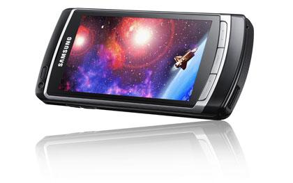 KÄNNYKÄLLÄ tehtävä videokuvaus on jo siirtymässä teräväpiirtoaikaan. Samsung Omnia HD tallentaa videokuvaa hd-laadulla 720p-kuvaformaatissa. Uudessa Omnia HD-versiossa on iso 3,7 tuuman oled-kosketusnäyttö, kahdeksan megapikselin kamera ja 16 gigatavun sisäinen muisti, joka on laajennettavissa 32 gigatavuun muistikortin avulla. Laite tulee myyntiin ensi kesänä.